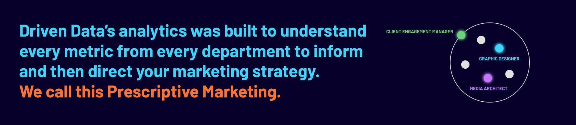 Prescriptive Marketing Team